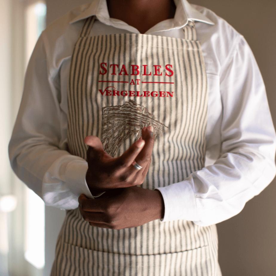 Waiter at the Stables at Vergelegen